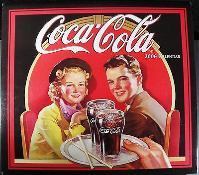 Coca Cola Coke - 2006 Wall Calendar - New !!  A