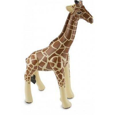 Giraffe XXL 65 x 74cm Inflatable Novelty Party Accessory Room Decoration