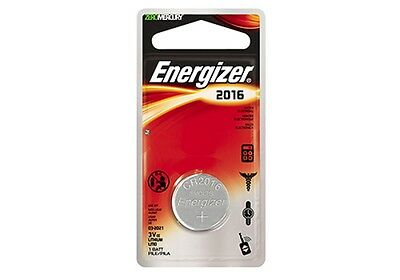 10 x Energizer CR2016 3V Lithium Coin Cell Battery 2016