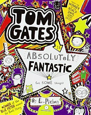 Tom Gates is Absolutely Fantastic (at some things) by Pichon, Liz Book