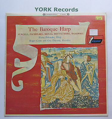 TV 34069S - THE BAROQUE HARP - Leena Polonska - Excellent Condition LP Record