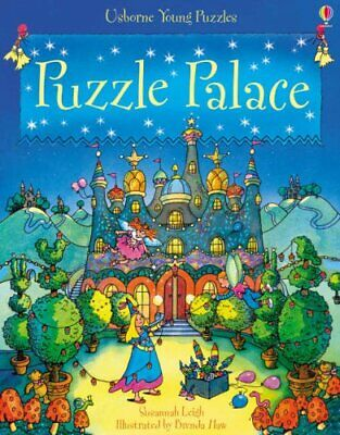 Puzzle Palace (Usborne Young Puzzles) by Leigh, Susannah Paperback Book
