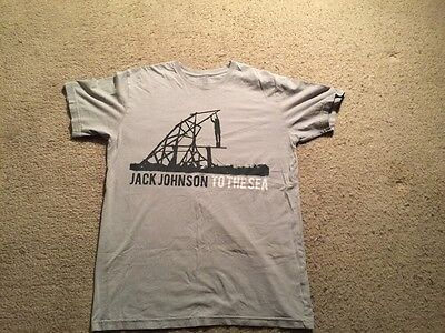 Jack Johnson Officially Licensed 2010 To The Sea World Tour Small T-shirt