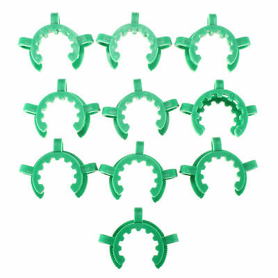 10PCS Plastic clamp,Plastic Keck,Lab Clamp Clip,Set, for 24/40 Ground joint