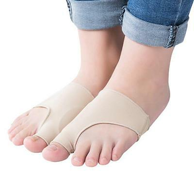 Hallux Valgus Toe Foot Protector Corrector Bunion Pads Sleeves Feet Pain Relief