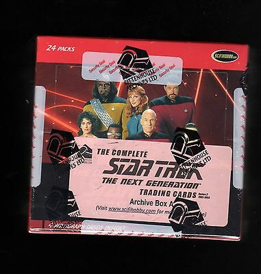 Star Trek the Complete The Next Generation series 2  Sealed Archive Box