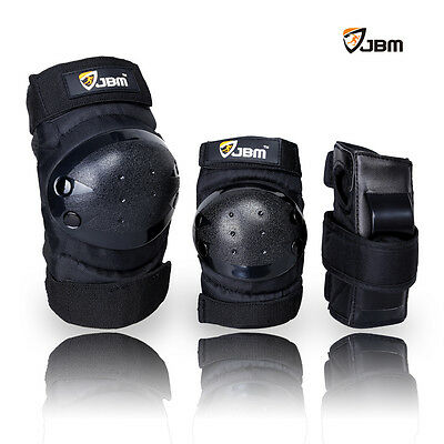 JBM Knee Elbow Wrist Protective Gear Pad for Child Skateboard Skating riding New