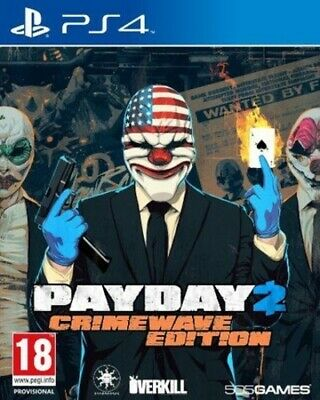 Payday 2: Crimewave Edition (PS4) VideoGames