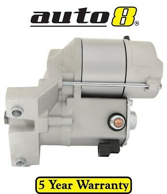 Brand New Starter Motor suits Holden Jackaroo Gen 2 UBS 3.5L 6VE1 1998 - 2004