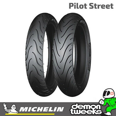 Michelin Pilot Street Rear TL 130/70/17 62S Motorcycle/Bike Tyre 1307017