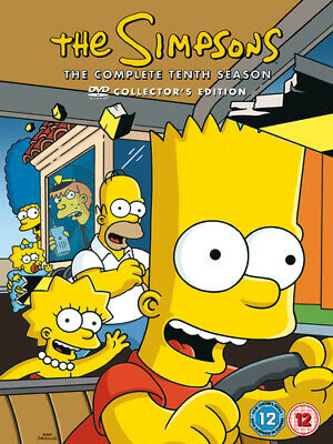 The Simpsons: Complete Season 10 DVD (2007) Matt Groening