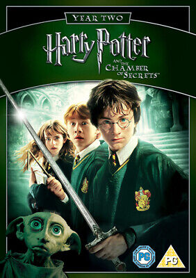 Harry Potter and the Chamber of Secrets DVD (2009) Daniel Radcliffe, Columbus