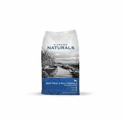 Diamond Naturals Dry Food for Adult Dogs, 40 Pound Bag ( 074198608331) NEW