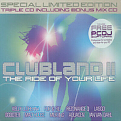 Various Artists : Clubland, Vol. 2 CD