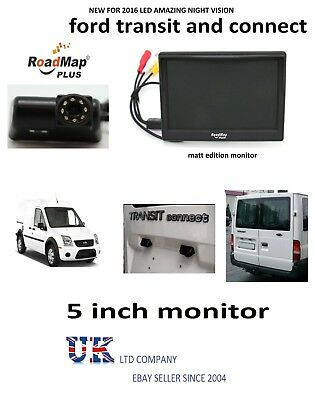 """ford transit and Transit connect Rear Reversing Reverse camera & 5"""" Monitor 061"""