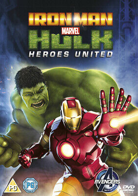 Iron Man and Hulk: Heroes United DVD (2014) Eric Radomski
