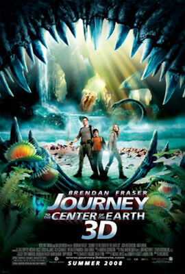 Journey to the Center of the Earth (3D) DVD (2008) Brendan Fraser