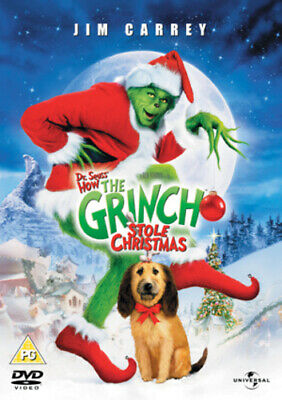 The Grinch DVD (2004) Jim Carrey, Howard (DIR) cert PG FREE Shipping, Save £s