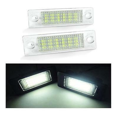 VW Transporter T5 - 18 SMD LED Number License Plate Replacement Units 6000K
