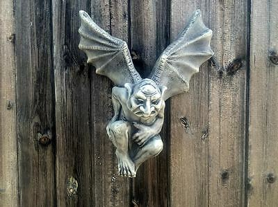 NEW LOW PRICE!! Gargoyle/Gremlin Wall Plaque Garden Ornament Latex Mould