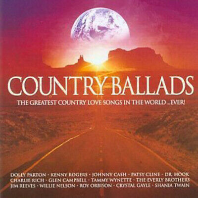 Various Artists : Country Ballads CD (2003)