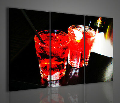 QUADRO MODERNO SPECIAL COLORED DRINK STAMPA SU TELA QUADRI MODERNI ARREDO BAR