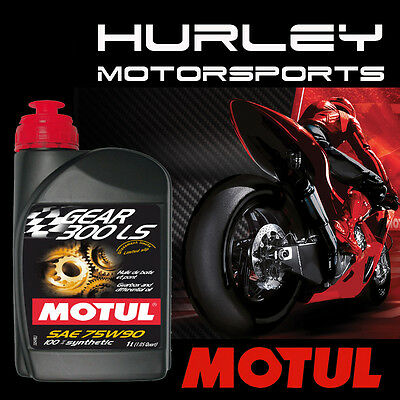 MOTUL Gear 300 75W90 100% Synthetic Oil - 1 Liter - Qty (12) - 105777