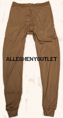 PECKHAM LWCWUS Lightweight Wicking Cold Weather PANTS DRAWERS BASE LAYER SMALL