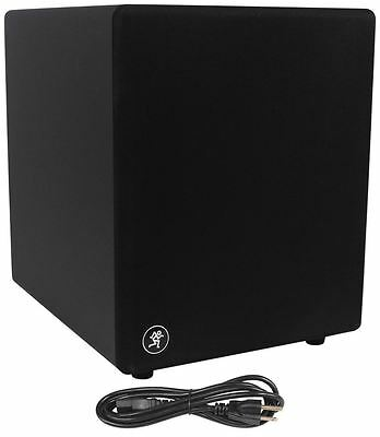 "New Mackie MR10mk3 10"" Powered Active Studio Subwoofer Sub"