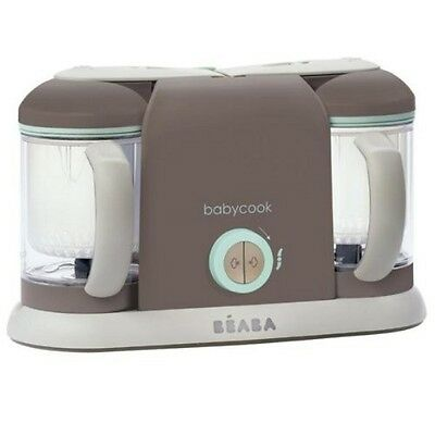 Beaba Babycook Pro 2X Baby Food Maker in Latte Mint BRAND NEW - See details
