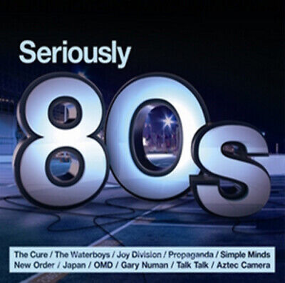 Various Artists : Seriously 80s CD 3 discs (2012) Expertly Refurbished Product