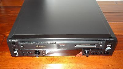 RARE Sony MXD-D5C 5 CD Changer MiniDisc DeckPlayer Recorder TESTED RARE