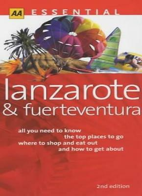 Essential Lanzarote and Fuerteventura (AA Essential) By  Andrew .9780749519179