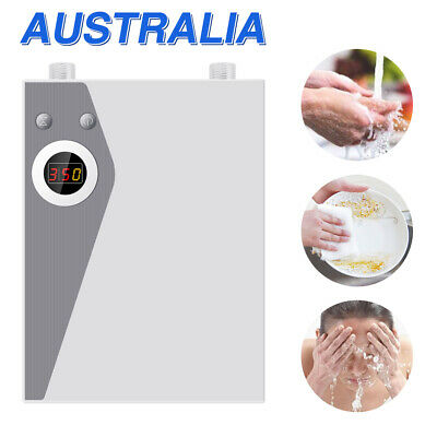 New Bathroom Electric Instant Hot Water System Kitchen Faucet Tap Water Heater