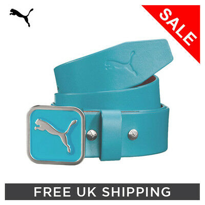 Puma Square Fitted Belt Scuba Blue (various sizes)