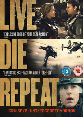 Edge of Tomorrow DVD (2014) Tom Cruise, Liman (DIR) cert 12 Fast and FREE P & P