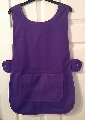 Wholesale Job Lot 6 New Tabards Aprons Purple Cafe Catering Florist Work