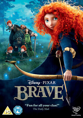 Brave DVD (2012) Mark Andrews cert PG Highly Rated eBay Seller Great Prices