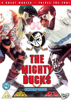 The Mighty Ducks Trilogy DVD (2009) Emilio Estevez