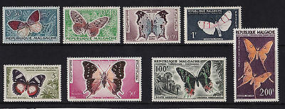 Malagasy - 1960 Butterflies (Only) - U/M - SG 7-11 & SG 19-21