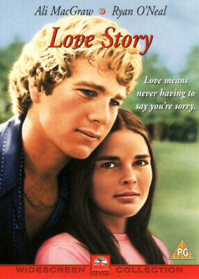 Love Story DVD (2002) Ali MacGraw, Hiller (DIR) cert PG FREE Shipping, Save £s