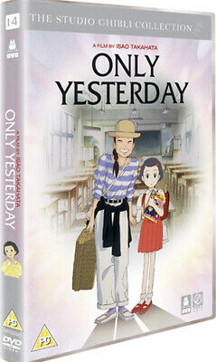 Only Yesterday DVD (2006) Isao Takahata cert PG Expertly Refurbished Product