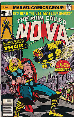 Marvel Comics Group! The Man Called Nova! Issue 4!