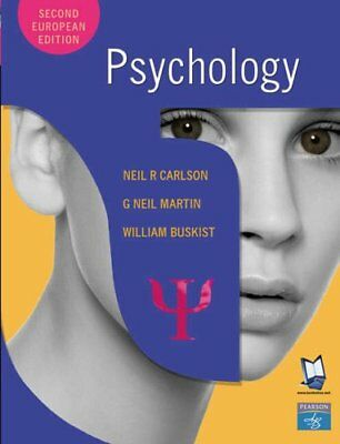 Psychology, Buskist, William Paperback Book The Cheap Fast Free Post