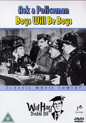 Ask a Policeman/Boys Will Be Boys DVD (2003) Will Hay