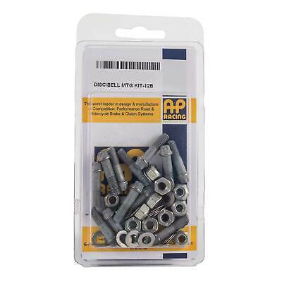 "AP Racing Disc/Bell Mounting Kit 12 Bolts 0.25"" UNF x 1.062"""