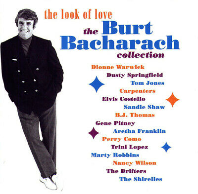 Various Artists : The Look of Love: The Burt Bacharach Collection CD 3 discs