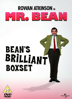 Mr Bean: Series 1 - Volumes 1-4 DVD (2010) Rowan Atkinson