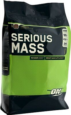 OPTIMUM NUTRITION Serious Mass 5454g ON Weight Gainer Muskelaufbau Protein