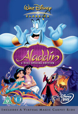 Aladdin DVD (2004) Ron Clements cert U Highly Rated eBay Seller, Great Prices